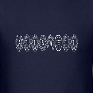 ALL and WELL-Logo T-Shirt - Men's T-Shirt