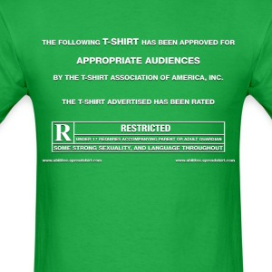 Film Trailer Green Screen - Men's T-Shirt