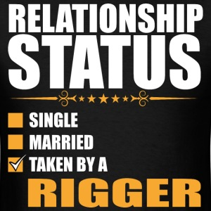 Relationship Status Single Married Rigger - Men's T-Shirt