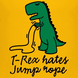 T-Rex hates jump rope Baby & Toddler Shirts - Toddler Premium T-Shirt