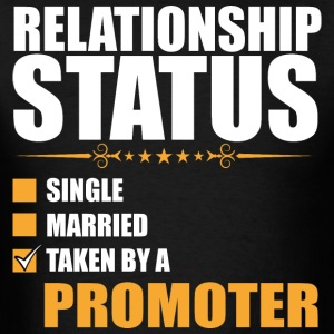 Relationship Status Single Married Promoter - Men's T-Shirt