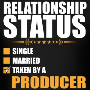 Relationship Status Single Married Producer - Men's T-Shirt