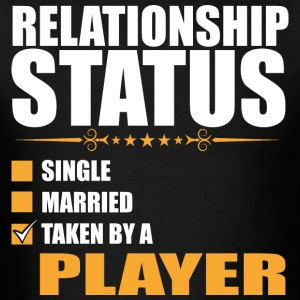 Relationship Status Single Married Player - Men's T-Shirt