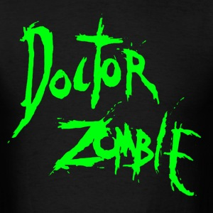 DOCTOR ZOMBIE LOGO GREEN T-Shirts - Men's T-Shirt