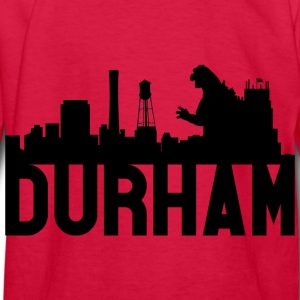 Kid's Durham Skyline Godzilla Long Sleeve Tee (Bla - Kids' Long Sleeve T-Shirt