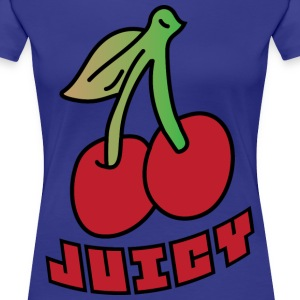 Juicy dark blue women's t shirt - Women's Premium T-Shirt