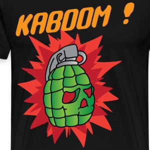 Kaboom ! black t shirt - Men's Premium T-Shirt