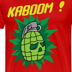 Kaboom red t shirt - Men's Premium T-Shirt