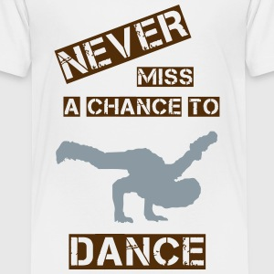 Never miss a chance (Man) Kids' Shirts - Kids' Premium T-Shirt