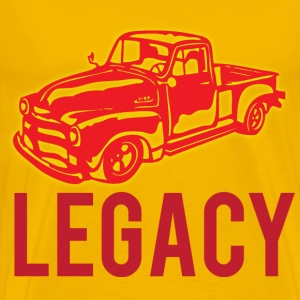 legacy yellow t shirt - Men's Premium T-Shirt