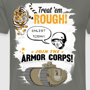 Join the Armor Corps! - Men's Premium T-Shirt