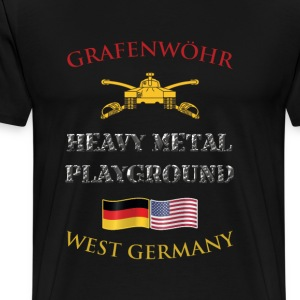 Grafenwohr: Heavy Metal Playground - Men's Premium T-Shirt