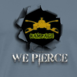 Rampage/We Pierce Sabot Damage - Men's Premium T-Shirt