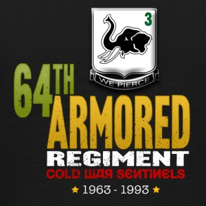 64th Armored Regiment: Cold War Sentinels - Men's Premium T-Shirt