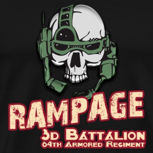 Rampage 3/64 Armored Regiment - Men's Premium T-Shirt