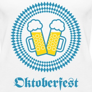 Oktoberfest (Wiesn / SVG / 2C) Tanks - Women's Premium Tank Top