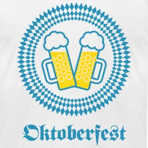 Oktoberfest (Wiesn / SVG / 2C) T-Shirts - Men's T-Shirt by American Apparel