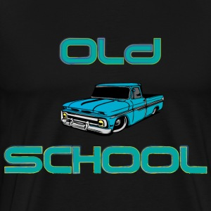Old School black t shirt - Men's Premium T-Shirt