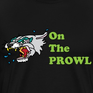 On the Prowl black t shirt - Men's Premium T-Shirt