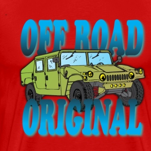 Off Road Original red t shirt - Men's Premium T-Shirt