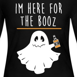Halloween Booz Shirt - Women's Long Sleeve Jersey T-Shirt
