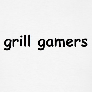 Grill Gamers Comic Sans Tee - Men's T-Shirt