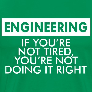 ENGINEERING MEN PREMIUM T-SHIRT - Men's Premium T-Shirt