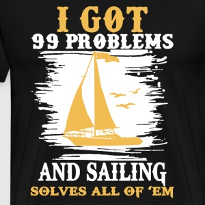 Sailing Solves Shirt - Men's Premium T-Shirt