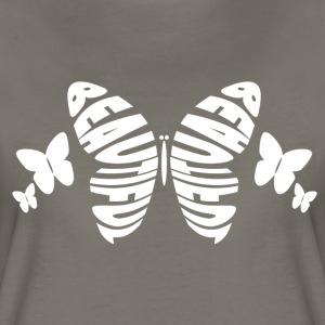 Beautiful Butterfly - Women's Premium T-Shirt