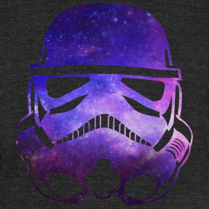 Space Trooper SHIRT UNISEX - Unisex Tri-Blend T-Shirt by American Apparel
