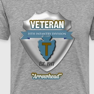 Veteran 36th Infantry Division - Men's Premium T-Shirt