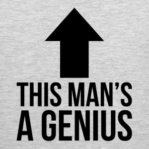 This Man's A Genius Sportswear - Men's Premium Tank