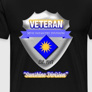 Veteran 40th Infantry Division - Men's Premium T-Shirt