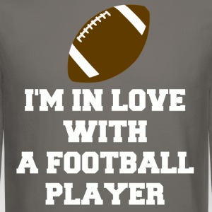 Football Player T Shirt.png Long Sleeve Shirts - Crewneck Sweatshirt