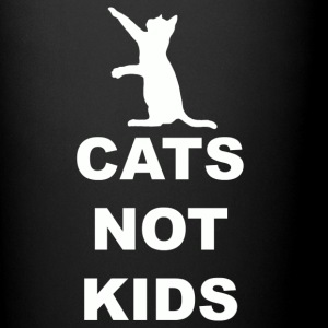 CATS Not Kids T Shirt.png Mugs & Drinkware - Full Color Mug