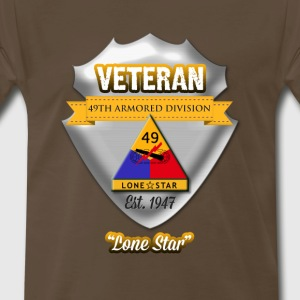 Veteran 49th Armored Division - Men's Premium T-Shirt