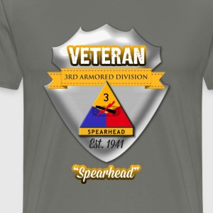 Veteran 3rd Armored Division - Men's Premium T-Shirt