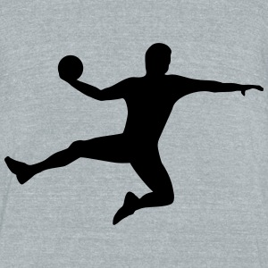 Handball T-Shirts - Unisex Tri-Blend T-Shirt by American Apparel