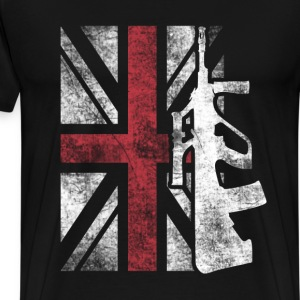 United Kingdom superheroes T - shirt - Men's Premium T-Shirt