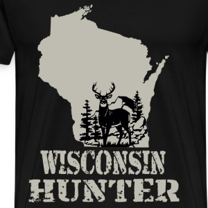 Wisconsin hunter - Men's Premium T-Shirt