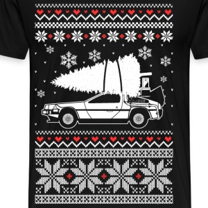 Mustang - Awesome christmas sweater for car lovers - Men's Premium T-Shirt