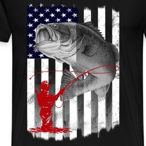 Fisher - Awesome t-shirt for American fishers - Men's Premium T-Shirt