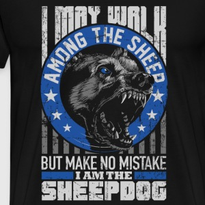 Sheepdog - Sheepdog makes no mistake t-shirt - Men's Premium T-Shirt