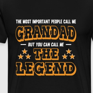 Grandad - You can call me the legend t-shirt - Men's Premium T-Shirt
