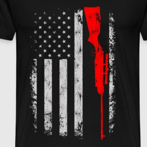 Hunting - Awesome t-shirt for American hunter - Men's Premium T-Shirt