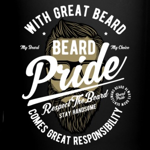 Beard Pride Hipster Mugs & Drinkware - Full Color Mug