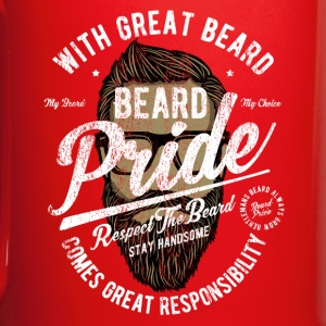 Hipster Beard Pride Mugs & Drinkware - Full Color Mug