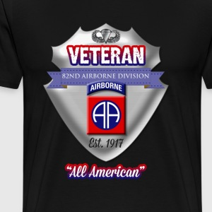 Veteran 82nd Airborne Division - Men's Premium T-Shirt