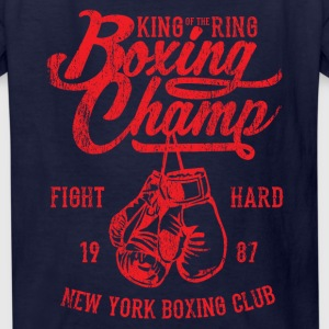 Boxing Champ Kids' Shirts - Kids' T-Shirt