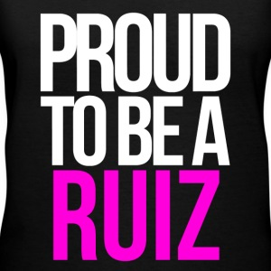 PROUD TO BE A RUIZ T-Shirts - Women's V-Neck T-Shirt